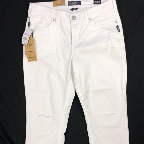ef757472f9c9f Silver Jeans Jeans | Suki High Rise Capri White 22 X 24 | Poshmark